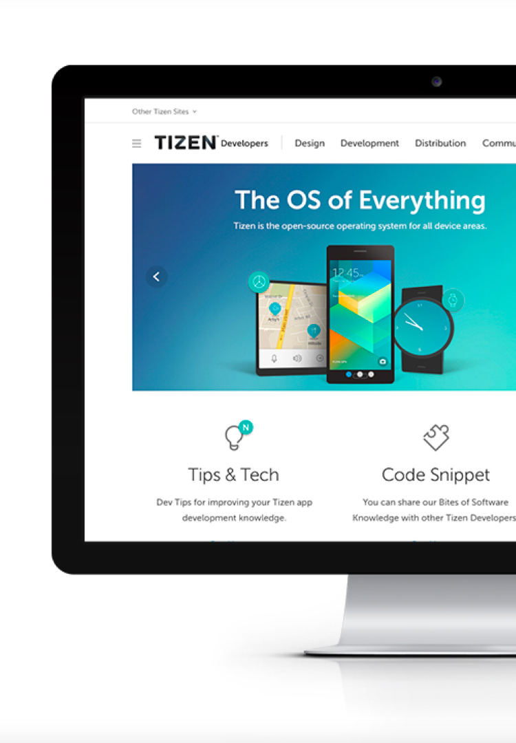 New Branding of the Developer-Oriented Interface for Users